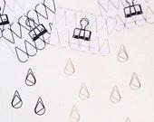 Raindrop Paper Clips