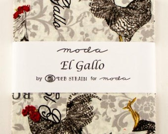 El Gallo Charm Pack from Moda