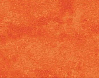 Tangerine Tango Orange Toscana Tonal Marble 9020-590 Northcott Quilt Fabric by the 1/2 yard