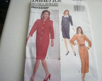 Pattern Ladies Dress 3 Styles Sizes 8-10-12 Vintage Butterick 3061