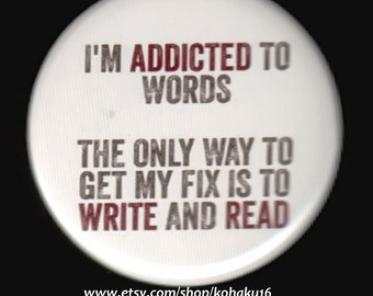 Button Addicted To Words