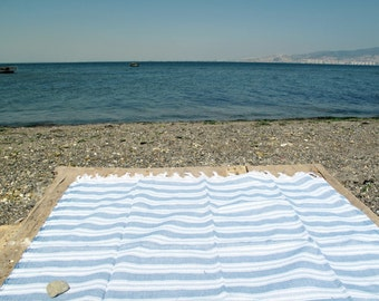 Beach Towel Organic Towel  Cotton Bath Towel Fouta Peshtemal Men Women Towel Turkish Towel Spa Pool Towel Yoga Mat Throw Blanket