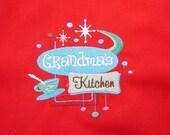 Full Apron - Grandma's Kitchen
