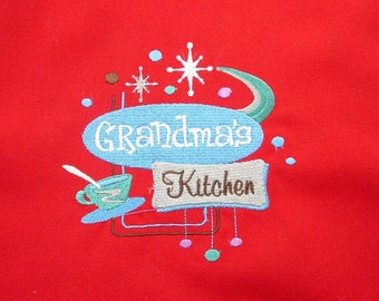Full Apron - Grandma's Kitchen