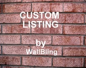 Custom Listing for rileys11