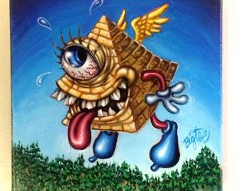 Lil' Illuminati Original Acrylic Painting