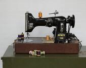 Mid Century Pfaff 130 Industrial Sewing Machine