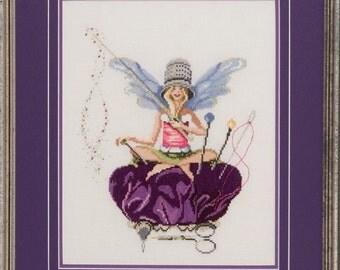 Thimbelina - The Needlework Fairy - Lynne Nicoletti - Counted Cross Stitch Chart