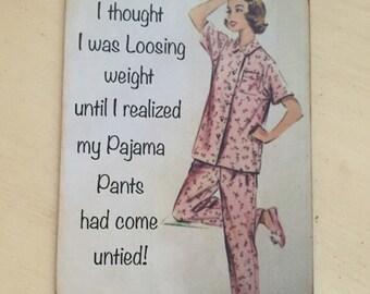 Humorous Vintage Magnet