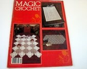 MAGIC CROCHET # 9....1st printing....early 80's crochet pattern booklet...doilies...tablecloths and more...crochet pattern guides