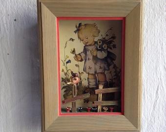 Vintage 3 - D picture  ANRI  Emil Fink Verlag print  hummel print