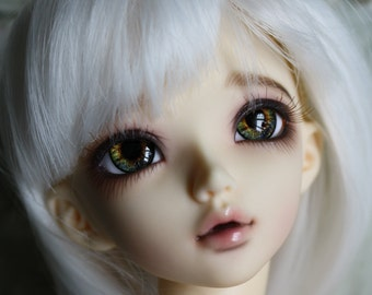BJD eyes Doll eyes Hand Made available in 12/14/16/18/20/22/24mm Golden Hare made to order