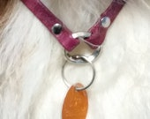 Leather Dog Necklace