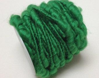 Craft Supplies - 32 Feet GREEN Wired Yarn - Yarn Rope, Fairy Hair
