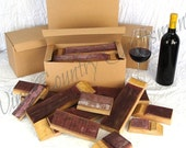 BBQ STAVES - Wine Soaked Oak for BBQ & Smokers // Wine Barrel Staves // Grilling Flavor // California Wines // Napa Valley