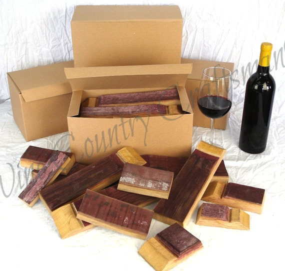 BBQ OAK STAVE - Oak - Wine Barrel Barbecue Staves -100% recycled