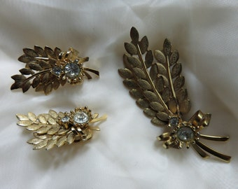 Sarah Coventry Brooch and Earring Set