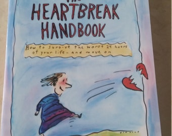 SALE Vintage The Heartbreak Handbook 1990s Self Help Paperback
