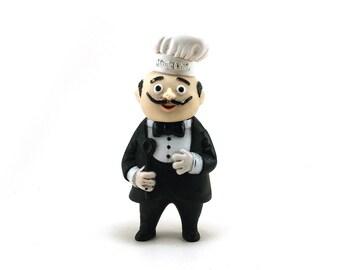 Vintage Magic Chef plastic bank - Promotional item - Piggy bank - Still bank