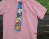 Superman Daily Planet boys necktie