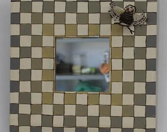 Decorative Mirror - Framed Mirror -  Small Mirror - Wall Mirror