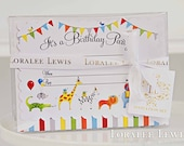 Animal Party Invitation Set by Loralee Lewis