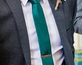 Copper Tie Bar, Tie Clip, Groomsmens Gift, Men's Accessories Gift, Antiqued Copper