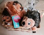 HEDGEHOGS Dog Gift Basket