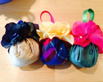 Assorted round  lavender sachets