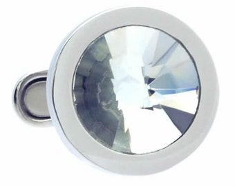 Swarovski Crystal Cufflinks