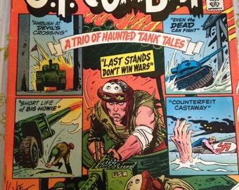 Vintage DC Comics G.I. Combat A Trio of Haunted Tank Tales No. 218