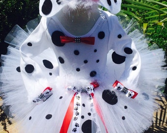 Posh Puppy Darling Dalmation Halloween Costume