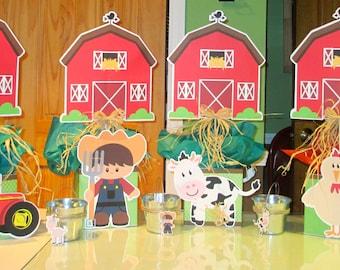 Farm Centerpieces