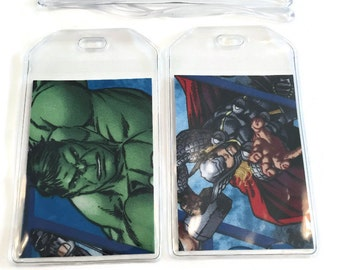 Luggage Tags Set of 2 Avengers