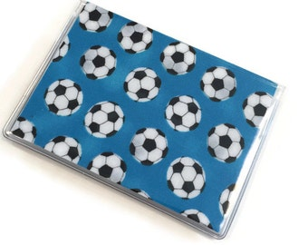 Card Case Mini Wallet Soccer Balls
