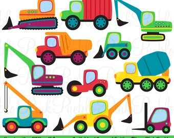 Transportation and Construction SVG Cutting Templates - Commercial and Personal Use