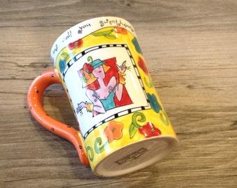 "Bodacious Babes Ceramic Coffee Mug by Joyce Shelton ""Let me call you Sweetheart, I Can't Remember your Name"" - funny coffee mug, girlfriend"