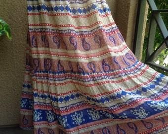 Small, Flowerchild Hippie Boho Skirt