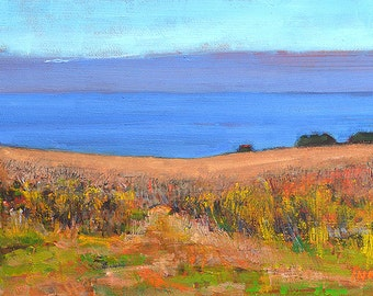 Laguna Beach Landscape Painting - Crystal Cove