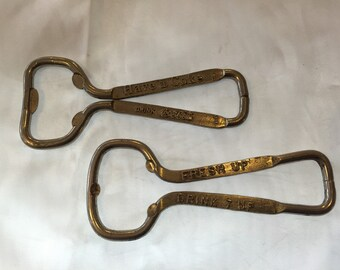 Vintage Coca-Cola and 7 Up Bottle Openers