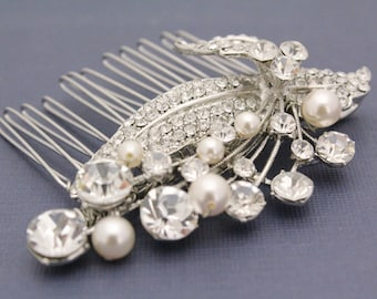 Wedding hair jewelry bridal hair accessories wedding headpiece bridal accessory wedding hair comb bridal hair jewelry wedding comb pearl