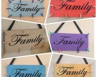 Family Photo Collage Hanger