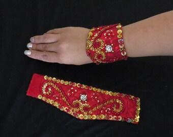 Belly Dance Wrist Cuffs