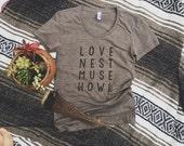 Love Nest Muse Howl Tee - Unisex