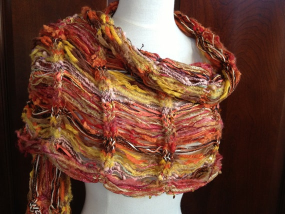 Loom Knit Lacy Shawl PATTERN. Dew Drop Shawl pattern by ...