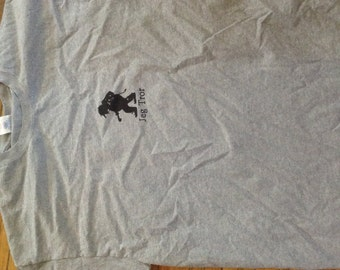 Norwegian Troll Shirt Jeg Tror gray XL adult