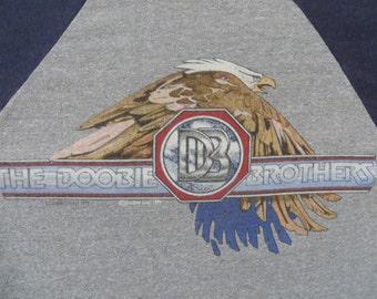DOOBIE BROTHERS 1982 tour T SHIRT