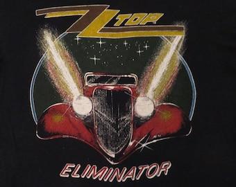 ZZ TOP 1983 tour T SHIRT