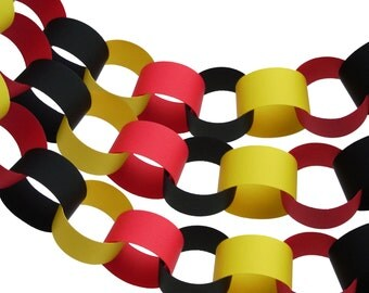 Mickey Mouse Chain Link Garland Party Decorations, Party Supplies - No1090