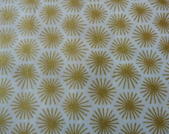 Morn's Rays Gold,  Aubade Collection by Michelle Engel Bencsko for Cloud 9 Fabrics 1/2 yd